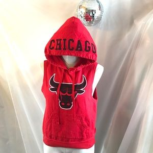 NBA Chicago Bulls Sleeveless Hoodie Tank